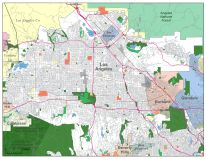 San Fernando Valley Zip Code Map | Zip Code MAP