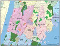 Yonkers Digital Vector Maps Download Editable Illustrator PDF